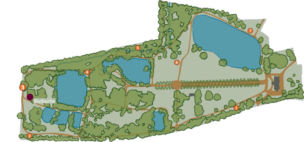 Plan Park Bendeleben Karte 3