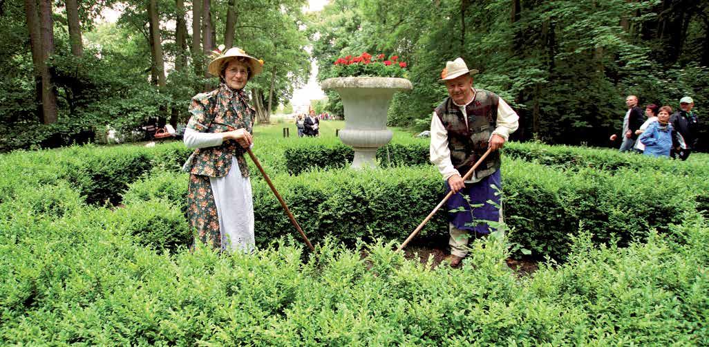 Gärtnerbild von der 250-Jahr-Feier (Fotograf: W. Slodczyk)