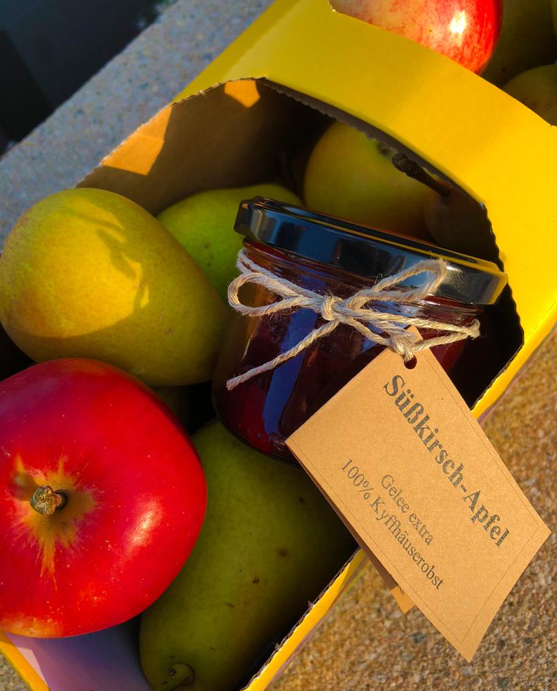 Miris Kyffhäuser Blog - Äpfel von den Kyffhäuser Obstbaumwiesen
